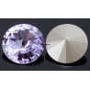 2541-SWAROVSKI ELEMENTS 1122 Violet Foiled SS29-6.5mm