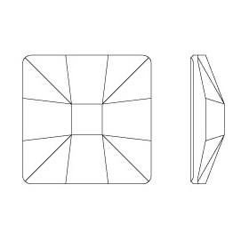 P2338-SWAROVSKI ELEMENTS 4470 Tanzanite Foiled 10mm