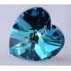 P0673-Swarovski Elements 6228 Bermuda Blue 18mm-1 buc