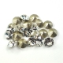 2549-Swarovski Elements 1028 Crystal Foiled PP 6 1.3mm-50buc