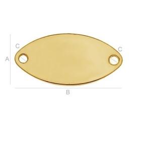 P2403-SWAROVSKI ELEMENTS 2612 Blush Rose Foiled 10mm