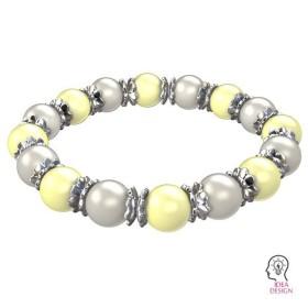 0714-SWAROVSKI ELEMENTS 2612 Crystal Silver Night Foiled 6mm