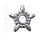 0717-SWAROVSKI ELEMENTS 2612 Crystal Luminous Green Foiled 6mm