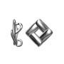 P2427-SWAROVSKI ELEMENTS 2540 Bermuda Blue 12x9.5mm 1 buc