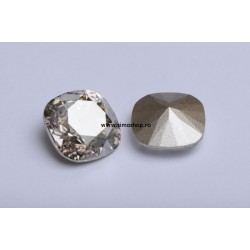 P2449-SWAROVSKI ELEMENTS 4470 Crystal Silver Shade Foiled 12mm