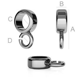 G1039-Colier lant Snake argint 925  0.9mm lungime 40cm