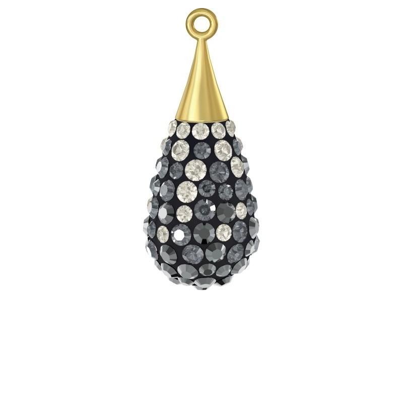 G0274-Link LOVE cu loc pentru perla 5817 de 8mm 1 buc