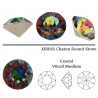 P2576-Swarovski Elements 1088 Crystal Vitrail Medium Foiled SS39 8mm