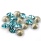 0741-Swarovski Elements 1028 Light Turquoise F PP9 1.5mm 50BUC