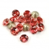 0779-Swarovski Elements 1028 Padparadscha Foiled PP9 1.5mm 50BUC