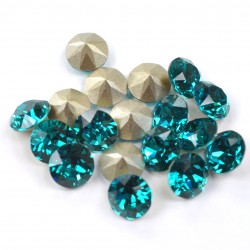 0783-Swarovski Elements 1028 Blue Zircon Foiled PP9 1.5mm 50BUC