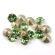 0798-Swarovski Elements 1028 Peridot Foiled PP9 1.5mm 50BUC