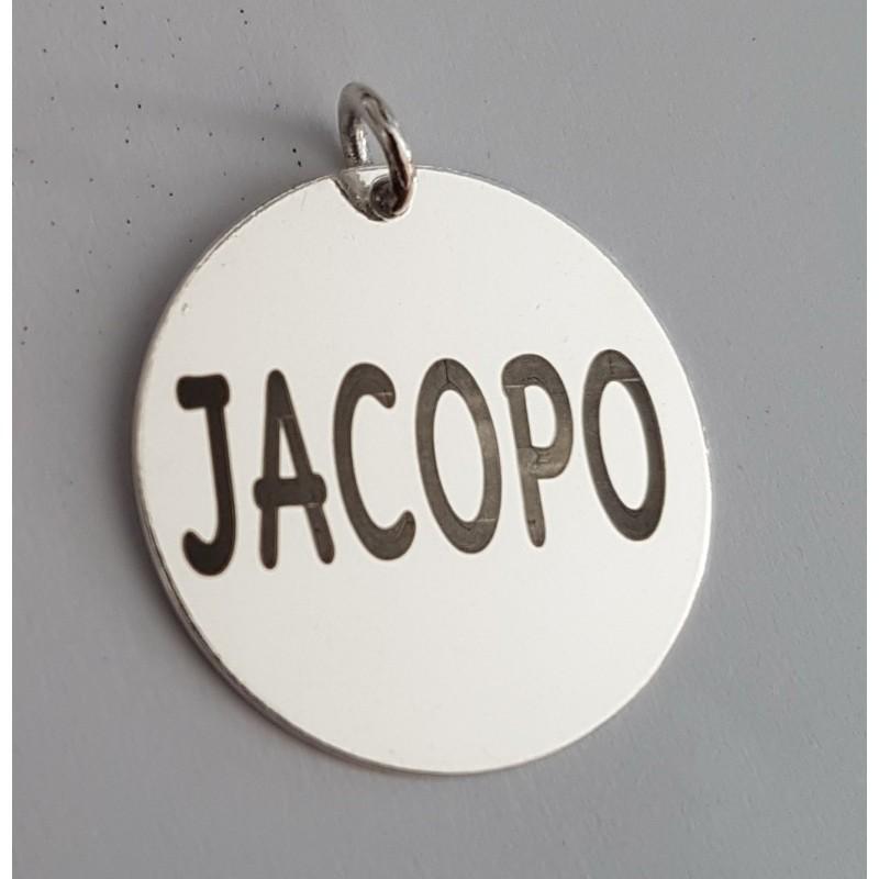 G0822-Chandelier argint 925 dimensiune 19.5x12mm