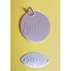 G0825-Link 5 inimioare asimetrice 26x6mm argint 925 1buc