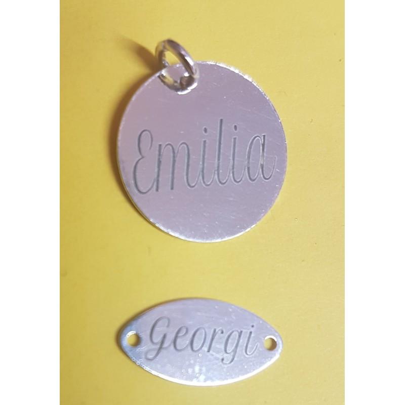 G0825-G-Link 5 inimioare asimetrice 26x6mm argint 925 0.5mm 1 buc