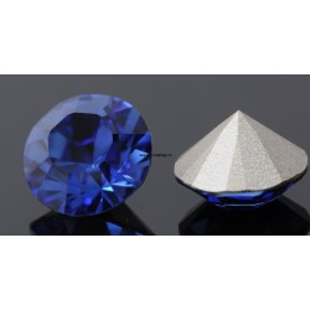 0860-Swarovski Elements 1028 Sapphire Foiled PP9 1.5mm 50BUC