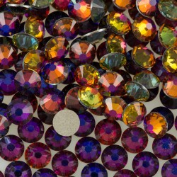 2568-SWAROVSKI ELEMENTS 2058 Crystal Volcano Foiled SS7 2.2mm