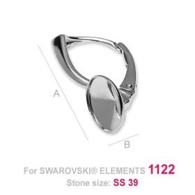 P2641-SWAROVSKI ELEMENTS 2088 Crystal Aurore Boreale F SS40-8.5m