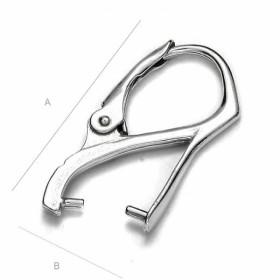P2644-Swarovski Elements 2753 Crystal Foiled 14mm