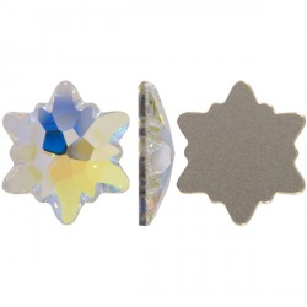 P2647-Swarovski Elements 2753 Crystal Aurore Boreale Foiled 10mm