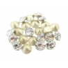 P2648-SWAROVSKI ELEMENTS 1088 Crystal White Patina F SS39 8mm