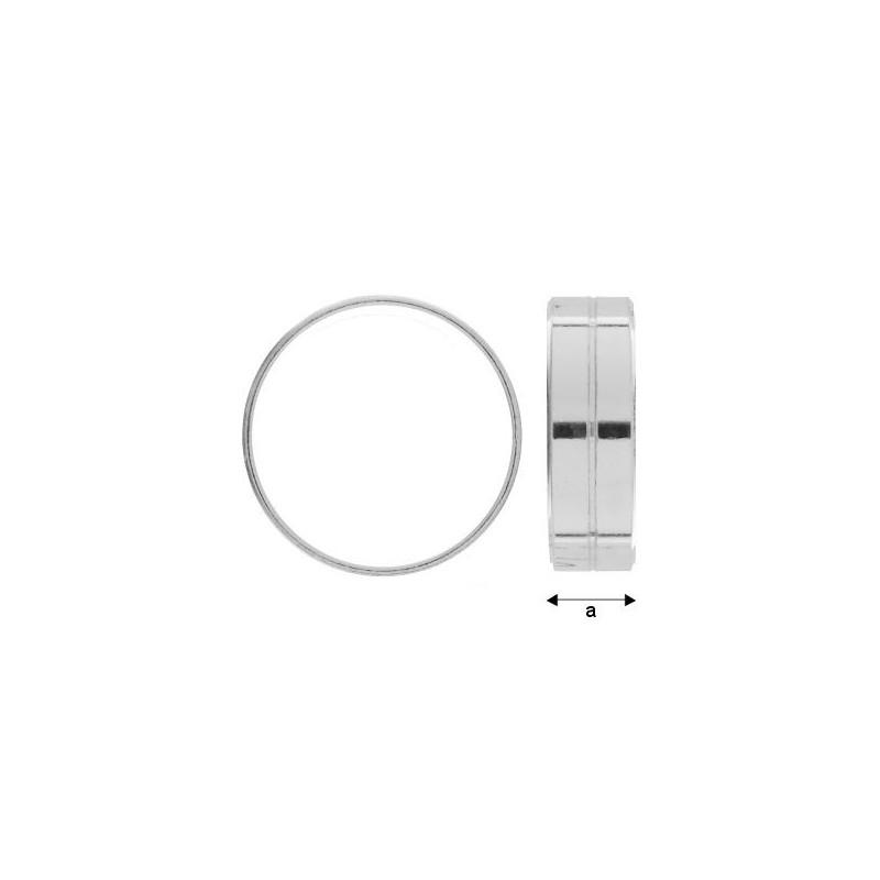 P2655-Swarovski Elements 4320 Crystal Foiled 18x13mm 1 buc