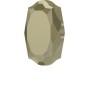 P2668-SWAROVSKI ELEMENTS 1122 Black Diamond Foiled SS47-11mm