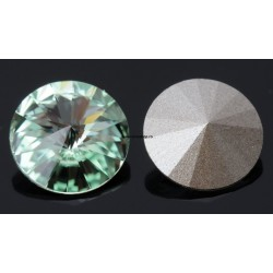 P2669-SWAROVSKI ELEMENTS 1122 Chrysolite Foiled SS47-11mm