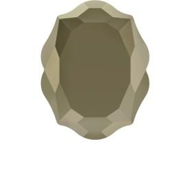 P2669-SWAROVSKI ELEMENTS 1122 Chrysolite Foiled SS47-11mm