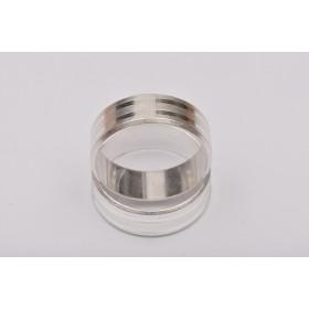 G964-Tije cercei PEACE SIGN 10mm