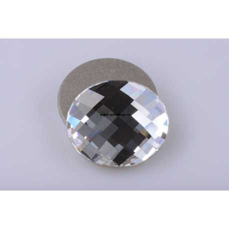 P0916-Swarovski Elements 2035 Crystal Foiled 10mm-1buc