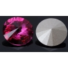 P0932-SWAROVSKI ELEMENTS 1122 Fuchsia Foiled 12mm-1buc