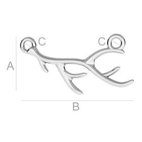 2574-Swarovski Elements 5818 Crystal Mystic Black Pearl 4mm