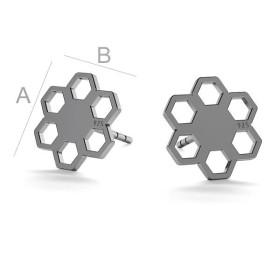 2592-Swarovski Elements 1088 Iridescent Green Foiled PP 9 1,5mm 1 buc Catalog   Produse