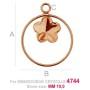 2073-Swarovski Elements 1088 Light Colorado Topaz F PP 18 2.5mm