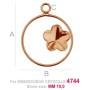 P2438-Swarovski Elements 1088 Iridescent Green F SS39 8mm