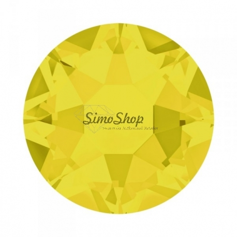P2255-Swarovski Elements 1088 Yellow Opal Foiled SS29 6mm