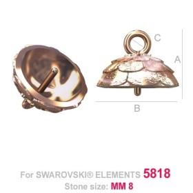 P2689-SWAROVSKI ELEMENTS 2494 Crystal  Foiled 10.5mm