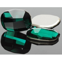 P0967-Swarovski Elements 2585 Emerald 14mm HOTFIX