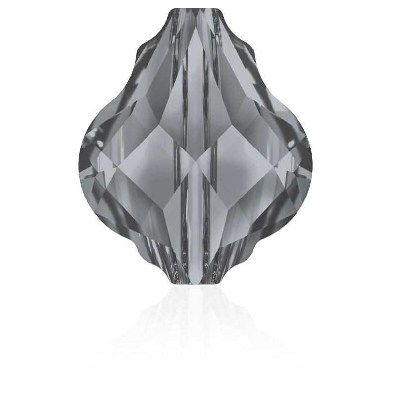 2636-Swarovski Elements 4122 Crystal Blue Shade Foiled 8x6mm 1 buc