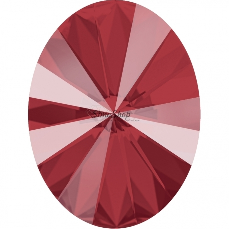 2640-Swarovski Elements 4122 Crystal Royal Red Unfoiled 8x6mm 1 buc