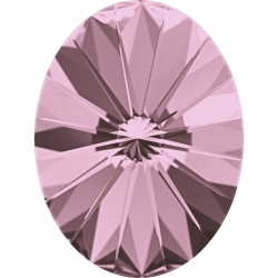 2641-Swarovski Elements 4122 Crystal Antique Pink Foiled 8x6mm 1 buc