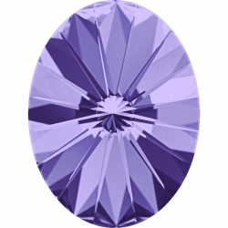 2650-Swarovski Elements 4122 Tanzanite Foiled 8x6mm 1 buc