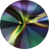 P2746-SWAROVSKI ELEMENTS 1122 Rainbow Dark Foiled 11mm-1buc