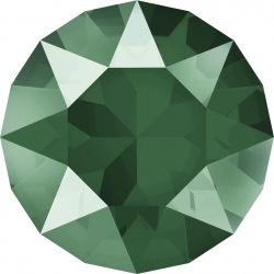 P2763-Swarovski Elements 1088 Royal Green Unfoiled SS29 6mm