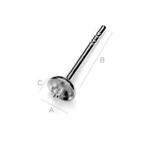 P2767-Swarovski Elements 1088 Rainbow Dark Foiled SS39 8mm