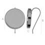 2661-SWAROVSKI ELEMENTS 2088 Crystal Royal Red Shiny UF SS16-4m