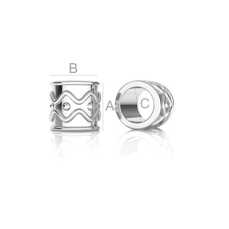 2665-SWAROVSKI ELEMENTS 2088 Crystal Rainbow Dark Foiled SS20-4.8m