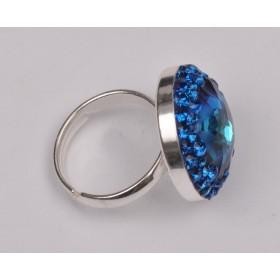 P2784-SWAROVSKI ELEMENTS 2088 Crystal Dark Grey Unfoiled SS30-6,5m