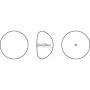 P2788-Swarovski Elements 5000 Emerald 8mm-1 buc